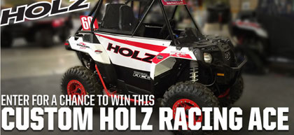 Polaris Ranger ATV Ace Holz