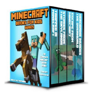 4 Minecraft Books