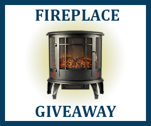 Sun Sweeps Fireplace Giveaway